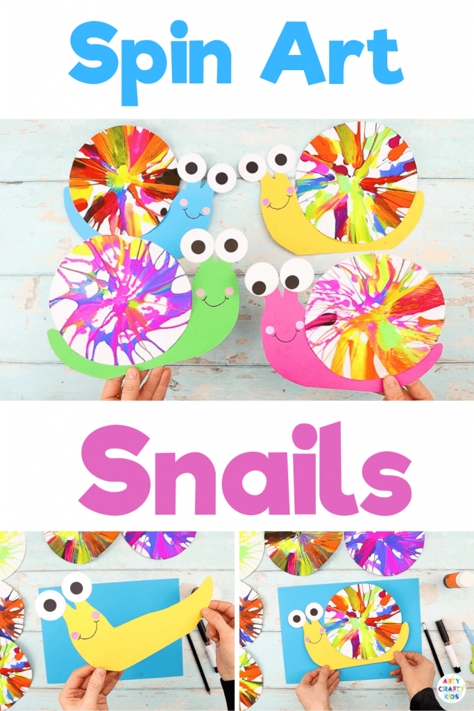 Art and craft is combined to make this adorable snail craft! With Spring is on its way and, with it, it will bring lots of lovely new learning topics for pre-schoolers and school early years. Life cycles, mini-beasts... This simple, yet effective art meets craft activity for kids is a fun and tactile way to encourage children to create.