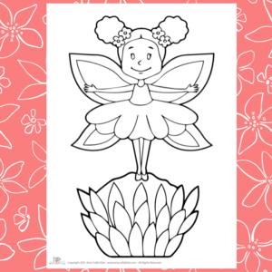 Happy Flower Fairy