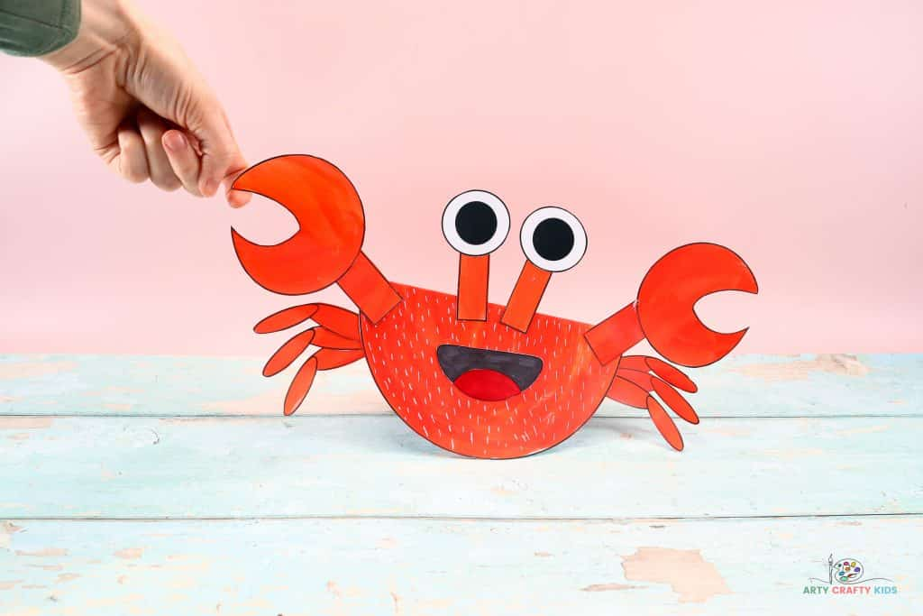 Learn how to make the Rocking Paper Crab Craft with our step-by-step tutorial! Summer is the perfect time for kids to make crab crafts. Our playful paper crab, is super fun and easy, combining both learning and creativity.