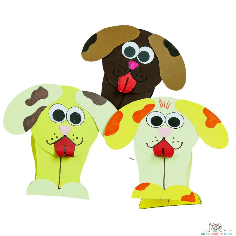 How to Make a Slinky Dog Craft for kids