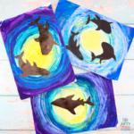 Easy Shark Art - Ocean Art for Kids