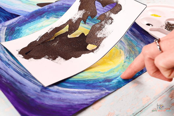 Easy Shark Art - Printable Shark Silhouettes
