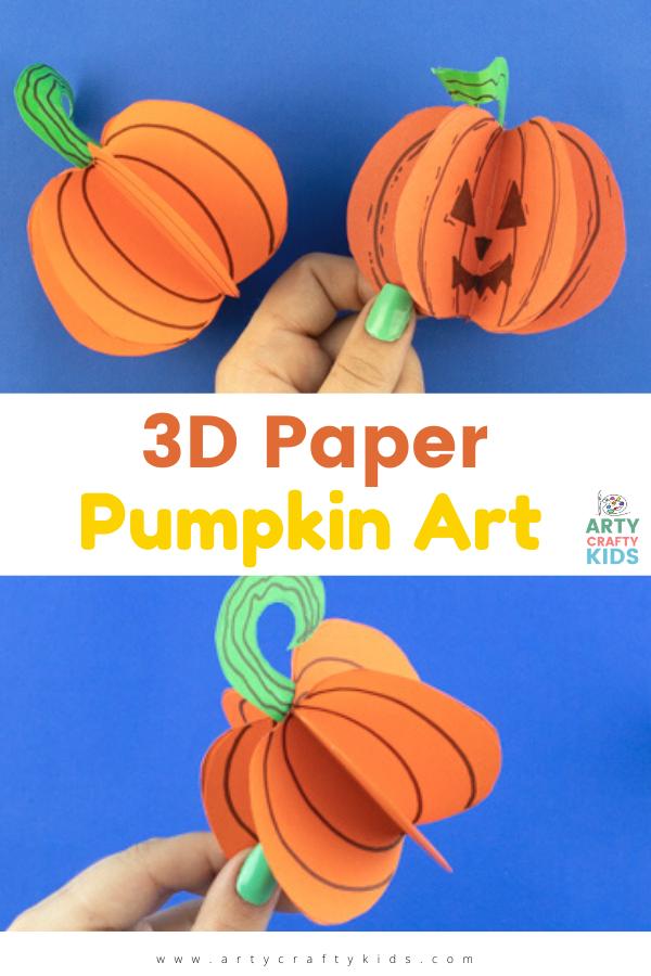Vous cherchez un bricolage de citrouille en papier rapide et facile?  Ces charmantes citrouilles en papier sont idéales pour les enfants de tous âges.  C'est un joli métier d'automne pour célébrer Halloween, la récolte et l'action de grâces et une fois que les enfants auront maîtrisé le processus de fabrication d'une citrouille en papier, beaucoup d'autres suivront à coup sûr.